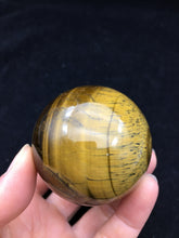 Load image into Gallery viewer, Tiger Eye Sphere