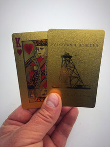 Kalgoorlie Boulder Gold Plated Cards Foil Box