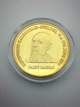 Load image into Gallery viewer, Paddy Hannan Gold Plated Coin