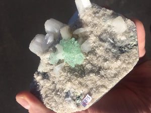 Apophyllite & Stilbite India