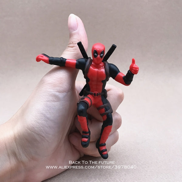 Disney Marvel Character Action Figure Sitting Posture