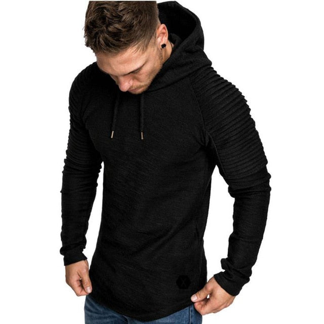 New Long Mens Hoodie