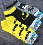 Superhero Batman Short Socks