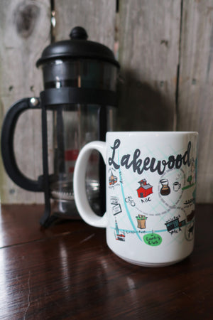 Dallas Neighborhood Mugs (This Item Pick Up Only)