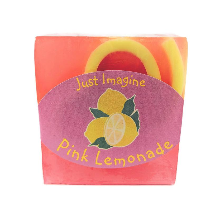 Pink Lemonade Soap-Just Imagine Handcrafted Bath & Body
