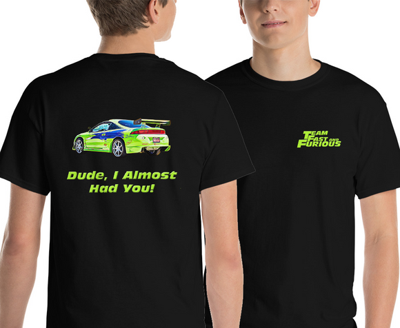 The Fast and Furious Eclipse Shirt