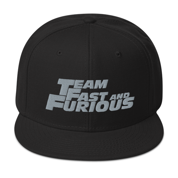Team Fast and Furious Snapback Hat