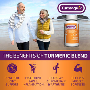 550mg Meriva Curcumin Turmeric Supplement (60 Capsules)