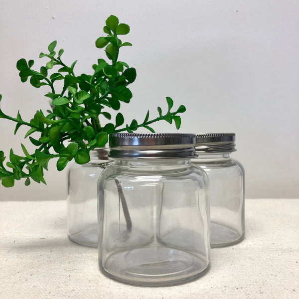 Glass Spice Jars-Jars-Flippin'Treasures