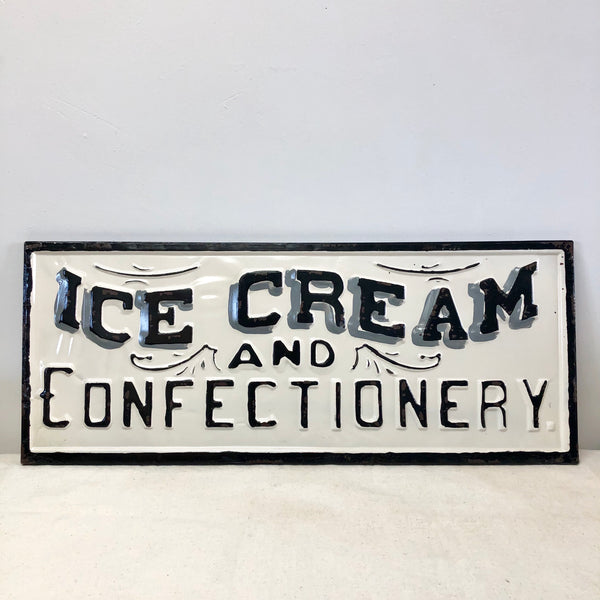 Ice Cream Metal Sign-Wall Decor-Flippin'Treasures