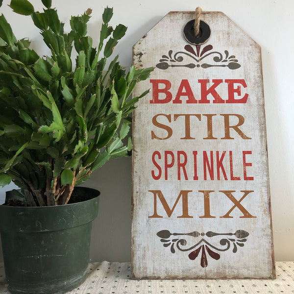 Baking Wall Sign-Wall Decor-Flippin'Treasures