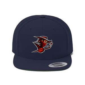 "Flat Bill ""Snapback"" Hat - (6 colors available) - Outlaws"