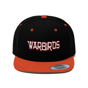 "Flat Bill ""Snapback"" Hat - (6 colors available) -  Warbirds_2"