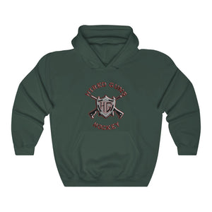 Hooded Sweatshirt - (12 colors available) - Hired guns_3