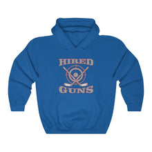 Hooded Sweatshirt - (12 colors available) - Hired guns