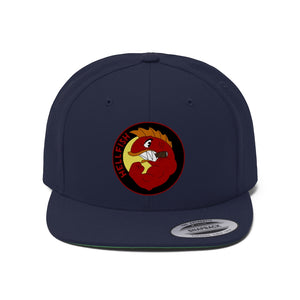"Flat Bill ""Snapback"" Hat - (6 colors available) -  Hellfish"