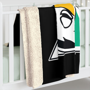 Sherpa Fleece Blanket- DRUNKS