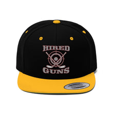 "Flat Bill ""Snapback"" Hat - (6 colors available) - Hired Guns"