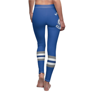 Women's Cut & Sew Casual Leggings - CLIPPERS