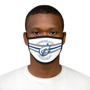 Mixed-Fabric Face Mask - Clippers