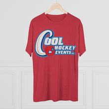Men's Tri-Blend Crew (Soft Tee) - Cool Hockey (10 colors available)