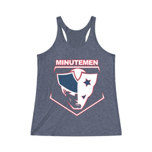 Women's Tri-Blend Racerback Tank - 10 COLORS -  MINUTE MEN