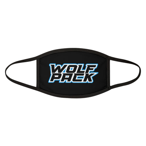 Mixed-Fabric Face Mask - WOLF PACK