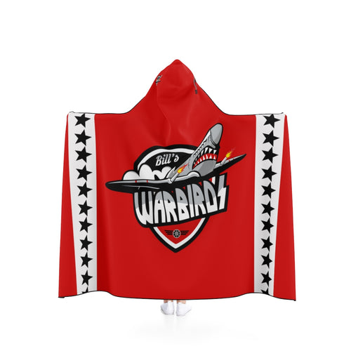 Hooded Blanket - (2 sizes) - Warbirds