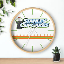Wall clock - STANLEY  (3 colors frames available)