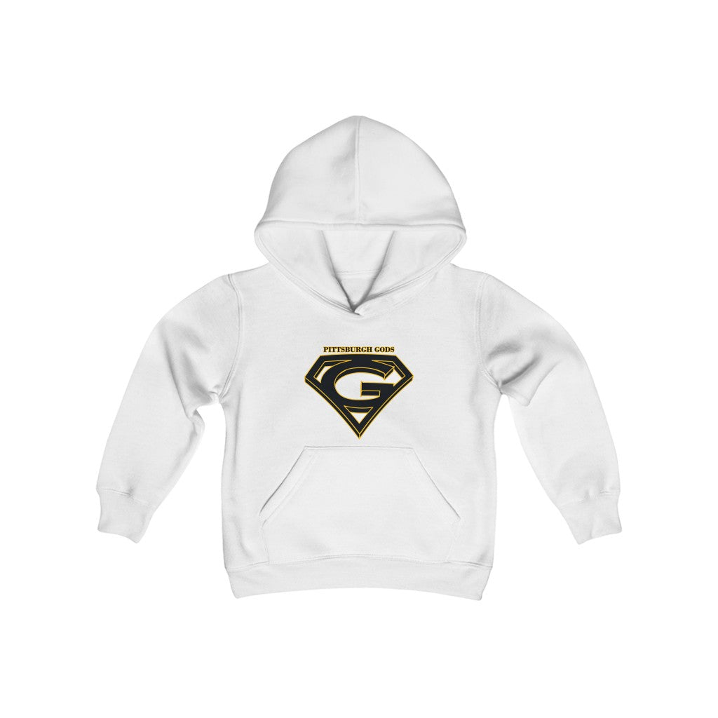 Youth Heavy Blend Hooded Sweatshirt - Gods