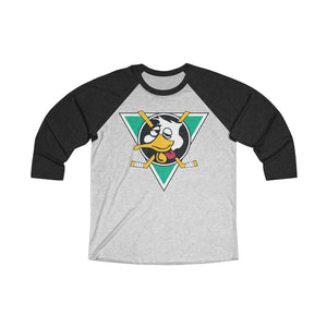 Unisex Tri-Blend 3/4 Raglan Tee - Mighty Drunks