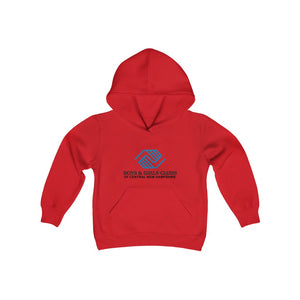 Youth Heavy Blend Hooded Sweatshirt - 12 COLOR- NH BOYS AND GIRLS