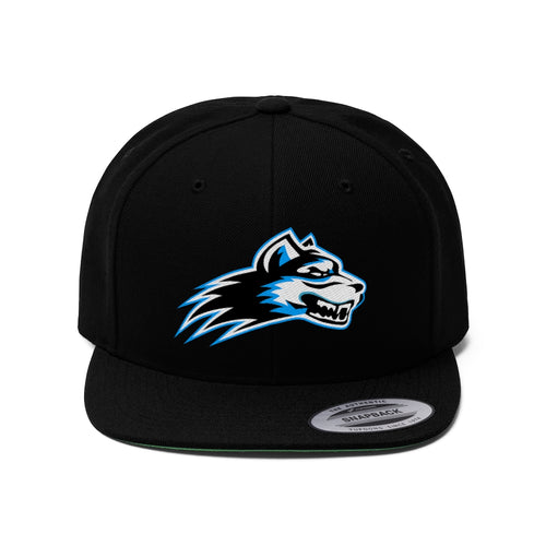 Unisex Flat Bill Hat- 6 COLORS - WOLF PACK