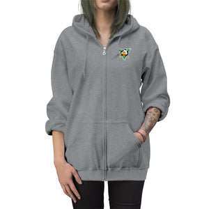 Unisex Zip Up Hoodie (Embroidered logo) - Mighty Drunks