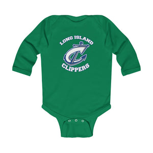 Infant Long Sleeve Bodysuit -8 COLORS - CLIPPERS
