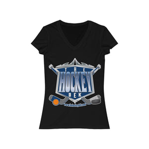Copy of Women's Jersey Short Sleeve V-Neck Tee - Hustle