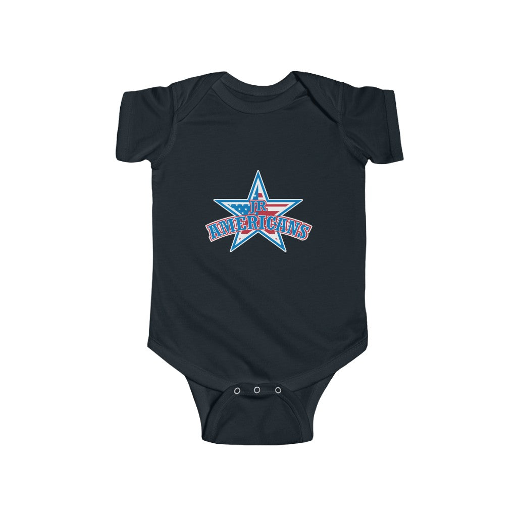 Infant Fine Jersey Bodysuit (4 colors available) - Jr Americans