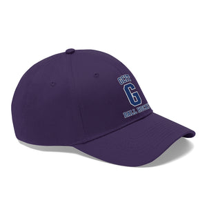 "Twill Hat ""velcro closure"" - (5 colors) GCIT"