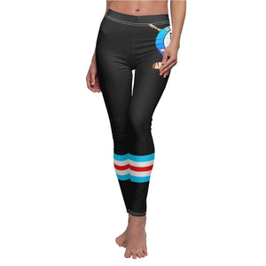 Women's Cut & Sew Casual Leggings- COACH Z FOUNDATION