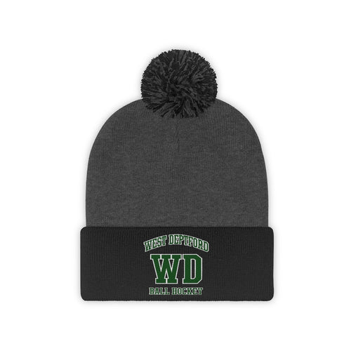 Pom Pom Beanie - (8 colors available)  - West Deptford