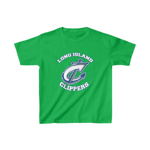 Kids Heavy Cotton™ Tee- 12 COLORS - CLIPPERS