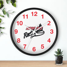 Wall clock- RED FOXES