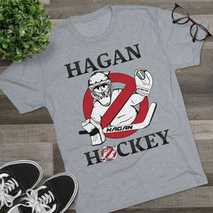 Hagan Hockey Goal Busters Men's Tri-Blend Crew Tee Next Gen