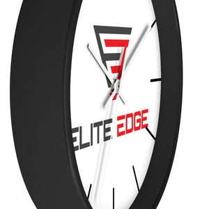 Wall clock - ELITE EDGE  (3 colors frames available)