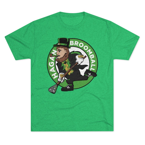 Irish Broomball Men's Tri-Blend Crew Tee