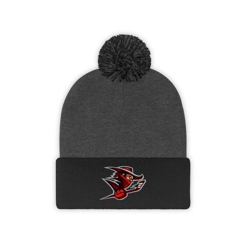 Pom Pom Beanie - (8 colors available)  - Outlaws