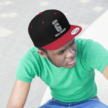 "Flat Bill ""Snapback"" Hat - (6 colors available) GCIT"
