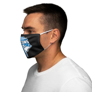 Snug-Fit Polyester Face Mask - FALCONS