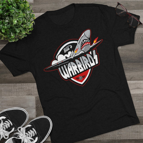 Men's Tri-Blend Crew Soft Tee (11 colors available) - Warbirds