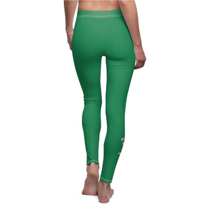 Women's Cut & Sew Casual Leggings - West Deptford
